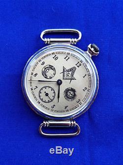 Vintage Montre Soviétique Soviétique Cccp Ussr Molnija Symboles Maçonniques 909115