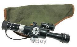 Vintage Original Militaire Pso-1 Portée Soviétique Russe Vue Optique (nspu Nsp2 Pp2)