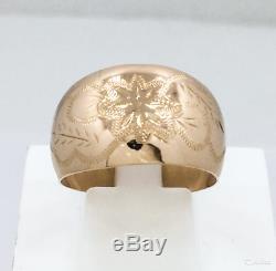 Vintage Russe Urss Bijoux Soviétique Bague En Or 14k 583 3.03gr S-20