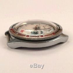 Vintage Russe Vostok Montre Gagarine Dans L'espace Premier Dial Urss Us Seller # 1512