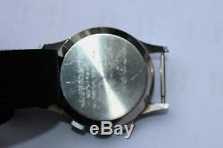 Vintage Sekonda Ussr Russian Chronograph Cal. 3017 + Bracelet Nato