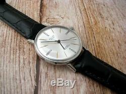 Vintage Ultra Slim De Luxe Urss Russe Soveit Montre-bracelet D'origine Mécanique