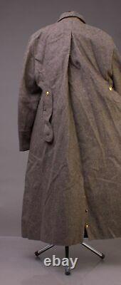Vintage Urss Russe Surplus Uniforme Uniforme Manteau De Laine Soldat 52-3 XL