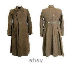 Vintage Urss Russe Surplus Uniforme Uniforme Pardessus Soldier Wool Coat XL Nouveau
