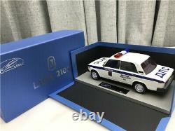 Voiture Russe Echelle 1/18 Lada Vaz 2105 Voiture De Police 001 Urss
