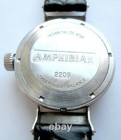 Vostok Amphibien Eared 200m Made In Ussr Montre Russe