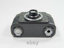 Working Ajax F-21 Vintage Ussr Russian Military Kgb Spy Film 21mm Mini Camera #4