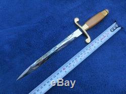 Ww2 Originale Russian Style Armée Soviétique Dagger Et Fourreau Excellent Etat