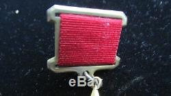 X-rare Original Russe Soviétique Gold Star Medal / Commande De Hero Socialiste Du Travail