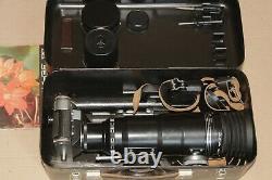 Zenit Es Photo-sniper Complete Set Vintage Urss Russe Slr 35mm Photogun Caméra
