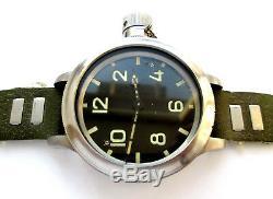 Zlatoust 191chs Russie Wrist Watch Montre De Plongée Militaire Ussr Original