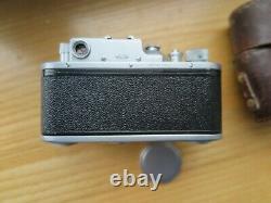 Zorki-3m Zorki 3m Urss Leica Photocopie Russe + Objectif Jupiter-8